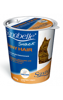Bosch Sanabelle Shiny Hair Snack, лакомство для кошек / Bosch (Германия)