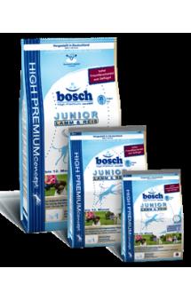 Bosch Junior Lamb and Rice, корм для щенков всех пород / Bosch (Германия)