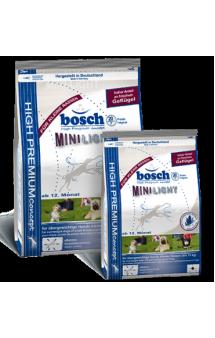 Bosch Mini Light, корм для взрослых собак мелких пород склонных к полноте / Bosch (Германия)
