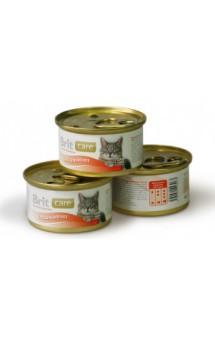 Brit Care Chicken Breast, Куриная грудка, консервы для кошек / Brit (Чехия)
