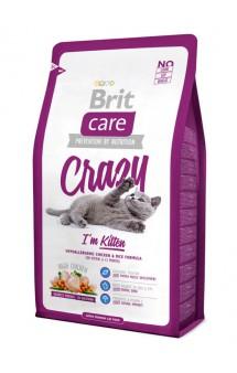 Brit Care Cat Crazy Kitten, корм для котят / Brit (Чехия)