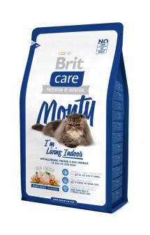 Brit Care Cat Monty, корм для кошек живущих в помещении / Brit (Чехия)