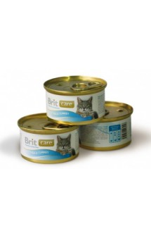 Brit Care Tuna and Turkey, тунец и индейка, консервы для кошек / Brit (Чехия)
