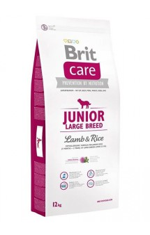 Brit Care Junior Large Breed Lamb, корм для щенков крупных пород / Brit (Чехия)