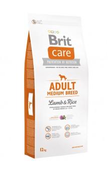 Brit Care Adult Medium Breed Lamb and Rice, корм для средних пород собак / Brit (Чехия)