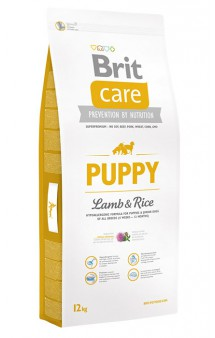 Brit Care Puppy All Breed Lamb Rice, корм для щенков / Brit (Чехия)