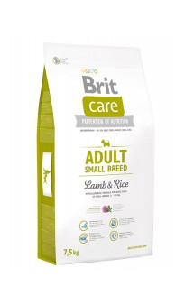 Brit Care Adult Small Breed Lamb and Rice, корм для мелких пород собак / Brit (Чехия)