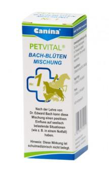 Цветы Баха № 1 «Спасение», кормовая добавка для животных / Canina (Германия)