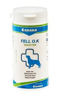 Fell O.K. Фелл О.К. для поддержания шерсти у собак в норме / Canina (Германия)