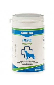 Hefe Хефе, добавка на основе дрожжей, для собак / Canina (Германия)