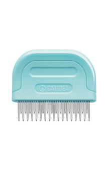 Cat Grooming Comb Mini, расческа для кошек и собак, зубцы разной длины / Catidea (Китай)