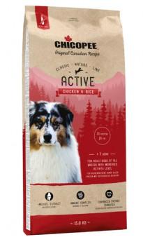 CNL корм для активных собак всех пород с Курицей и Рисом / Chicopee (Канада)