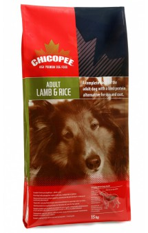 Сухой корм для собак с Ягнёнком и Рисом / Chicopee (Канада)