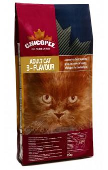 3 - Flavour, cухой корм для привередливых кошек / Chicopee (Канада)