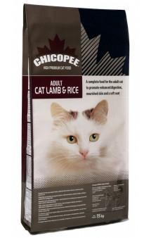 Сухой корм для кошек с Ягненком и Рисом / Chicopee (Канада)