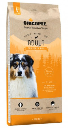 CNL, корм для собак всех пород с Курицей и Рисом / Chicopee (Канада)