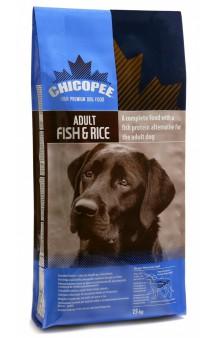 Сухой корм для собак с Рыбой и Рисом / Chicopee (Канада)