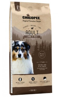 CNL, корм для собак всех пород с Ягненком и Рисом / Chicopee (Канада)
