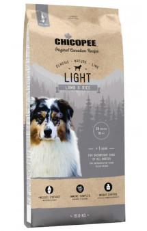 CNL корм для собак всех пород с Ягненком и Рисом, облегченный / Chicopee (Канада)