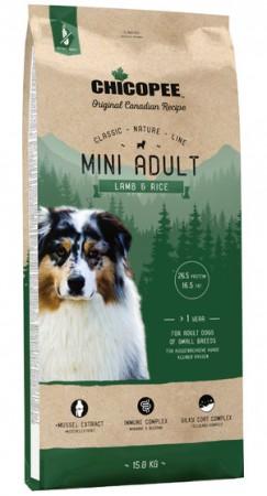 CNL корм для собак мелких пород с Ягненком и Рисом / Chicopee (Канада)