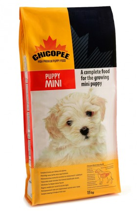 Сухой корм для щенков и юниоров мелких пород / Chicopee (Канада)