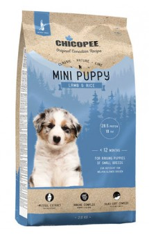 CNL корм для щенков мелких пород с Ягненком и Рисом / Chicopee (Канада)