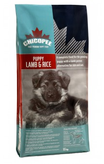 Сухой корм для щенков всех пород с Ягненком и Рисом / Chicopee (Канада)