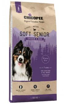CNL, корм для пожилых собак всех пород с Курицей и Рисом / Chicopee (Канада)