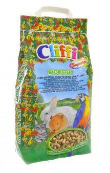 Biolitter, био-наполнитель для кошек, грызунов и птиц / Cliffi (Италия)