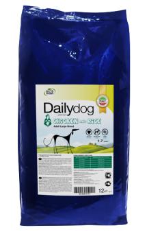 DailyDog Adult Large Breed Chicken and Rice, корм для собак крупных пород с Курицей и Рисом / DailyPet (Италия)