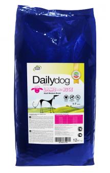 DailyDog Adult Medium Breed Lamb and Rice, корм для собак средних пород с Ягненком / DailyPet (Италия)