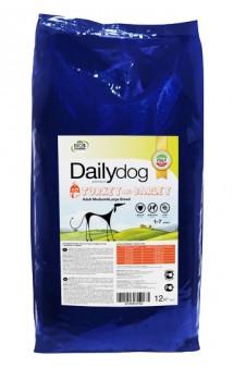 DailyDog Adult Medium and Large Breed Turkey and Barley, корм для собак средних и крупных пород с Индейкой / DailyPet (Италия)