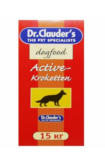 Active-Kroketten, корм для активных собак / Dr. Clauder`s (Германия)