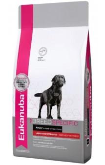Labrador Retriever Adult, корм для собак породы Лабрадор-Ретривер / Eukanuba (Нидерланды)