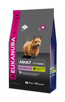 Adult Small Breed, корм для собак мелких пород / Eukanuba (Нидерланды)