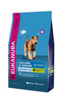 Mature & Senior 6 + Large Breed, корм для пожилых собак крупных пород / Eukanuba (Нидерланды)