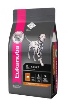 Adult Lamb & Rice, корм для собак всех пород с Ягненком / Eukanuba (Нидерланды)
