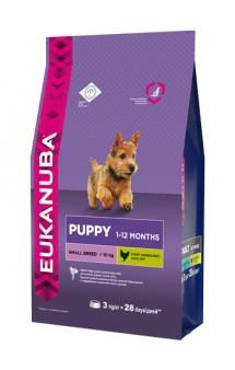 Puppy & Junior Small Breed, корм для щенков мелких пород / Eukanuba (Нидерланды)