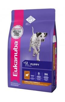 Puppy & Junior Lamb & Rice, корм для щенков всех пород, Ягненок и Рис   / Eukanuba (Нидерланды)