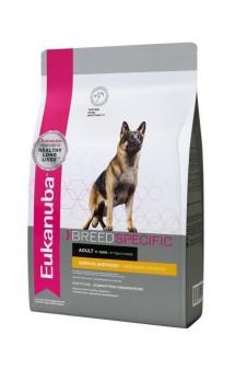 German Shepherd Adult, корм для немецких овчарок / Eukanuba (Нидерланды)