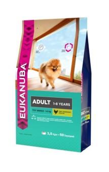 Eukanuba Dog Adult Toy, корм для собак миниатюрных пород / Eukanuba (Нидерланды)
