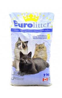 """Dust Free, комкующийся наполнитель """"Контроль запаха"""" с ароматом детской присыпки / EuroLitter (Канада)"""