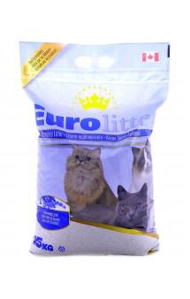 "Dust Free, комкующийся наполнитель ""Контроль запаха"", с запахом Лаванды / EuroLitter (Канада)"