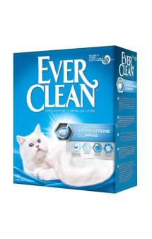 Extra Strenght Unscented, комкующийся наполнитель без аромата / EVER CLEAN (США)