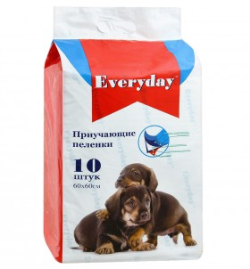 Впитывающие пеленки для животных, приучающие, гелевые, 60х60 см / Everyday (Китай)