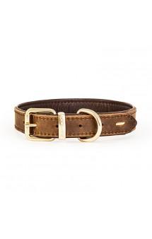 Кожаный ошейник для собак Oxford, коричневый / EzyDog (Австралия)
