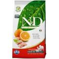 N&D Fish & Orange Adult,корм для собак с Рыбой и Апельсином / Farmina (Италия)