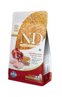 N&D Starter Puppy Chicken&Pomegranate, корм для новорожденных щенков / Farmina (Италия)