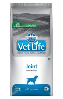 Vet Life Dog Joint, диета для собак при заболеваниях опорно-двигательного аппарата / Farmina (Италия)