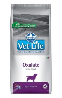 Vet Life Dog Oxalate, диета для собак при МКБ / Farmina (Италия)